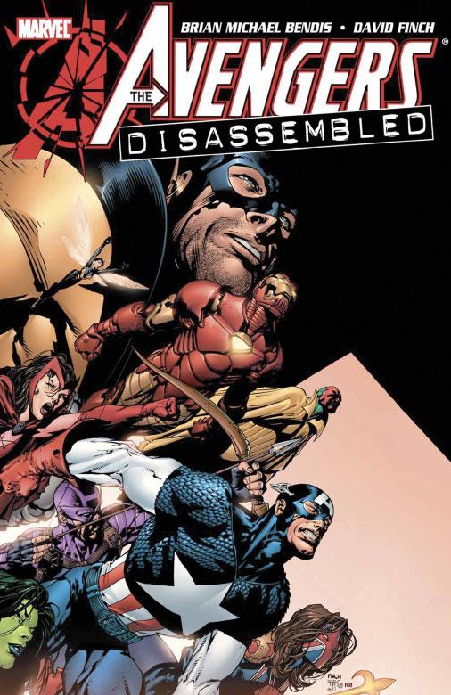 Las Sagas mas importantes de Marvel (actualmente) AvengersDisassembled