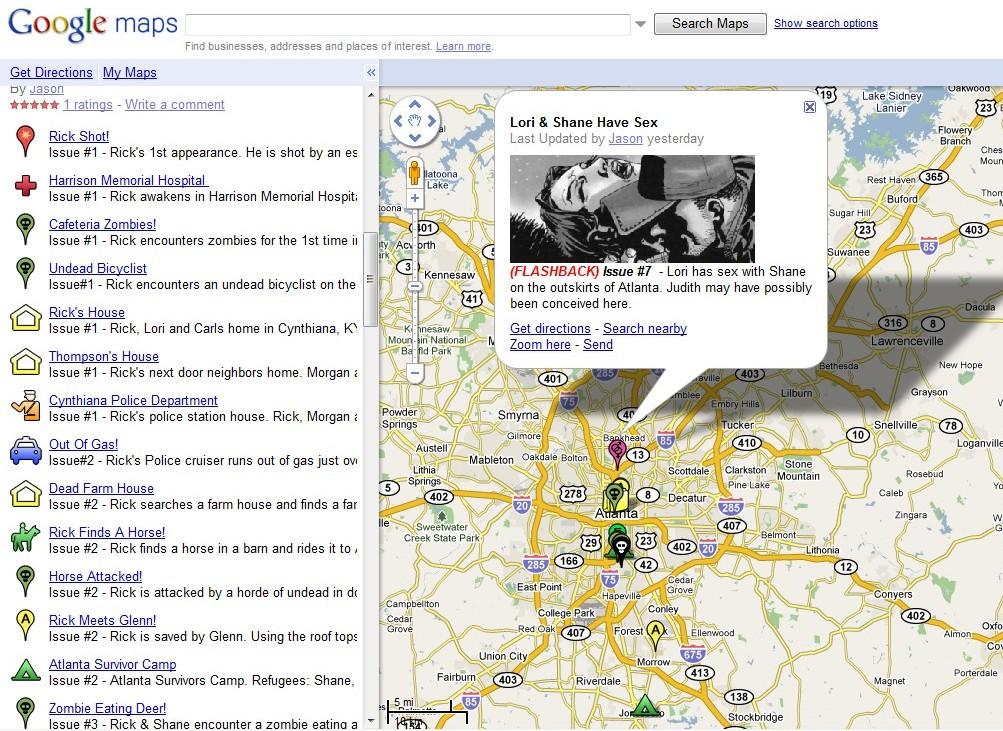Walking-Dead-Google-Map