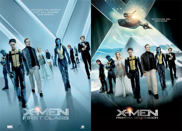 X-Men: First Class  X-Men_First_Class_Nouvelles_Affiches