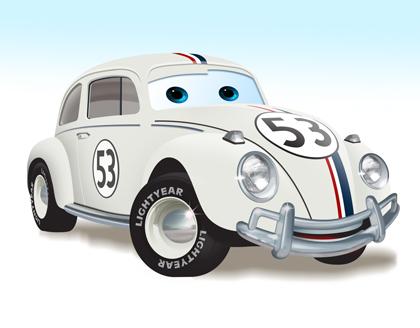 Choup' version Pixar Pixar-herbie