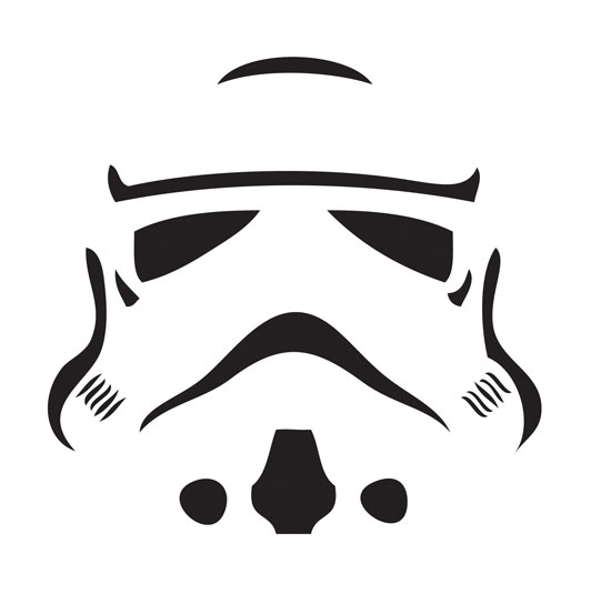 Stormtrooper citrouille