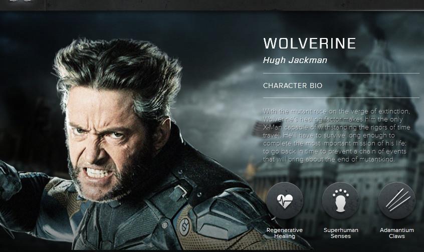 X-Men Days of Future Past Wolverine