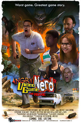Angry video game nerd the movie for Meuble danois montreal