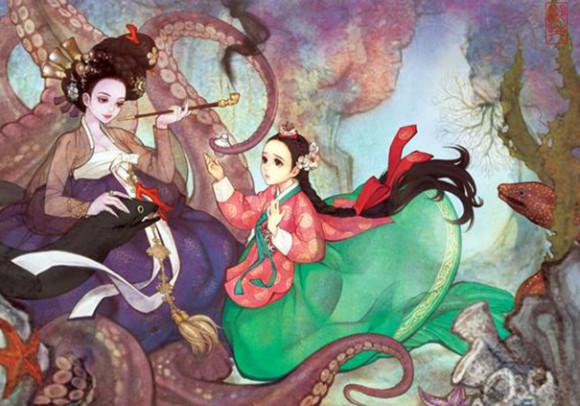 asian-korean-disney-remake-illustration-na-young-wu-12