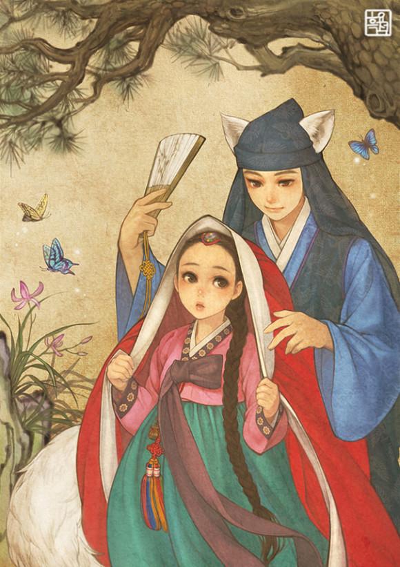 asian-korean-disney-remake-illustration-na-young-wu-4