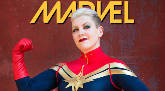 cosplay captain marvel